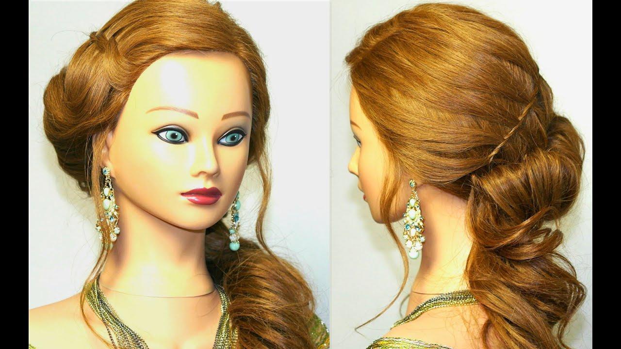 Также отличный вариант для прически на работу — это оригинальная интерпретация строгого пучка из волос.