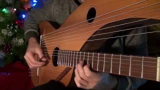 Gambar cover Carol of the Bells & God Rest Ye Merry Gentlemen (intro) - Harp Guitar - Jamie Dupuis