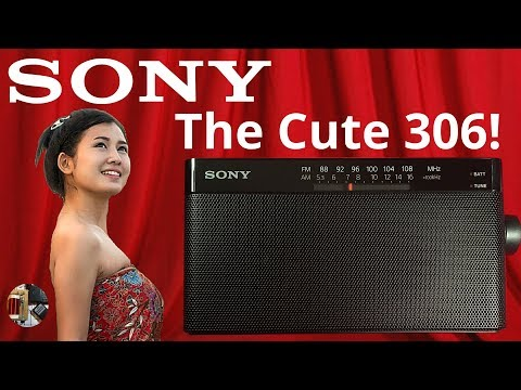 Sony ICF-306 AM FM Portable Radio Review