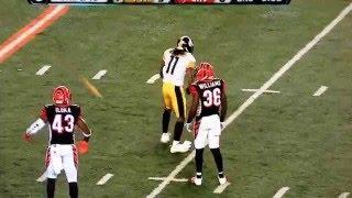 ESPN questions personal foul call on Pittsburgh. #Bullshitcalls