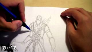 Connor Kenway Assassin's Creed 3 Speed Drawing