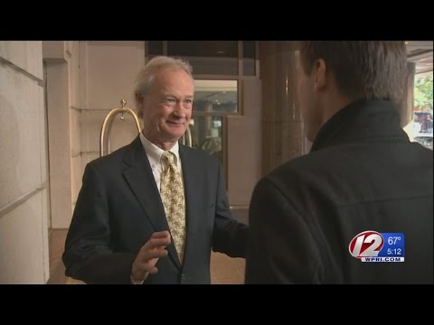 Former RI Governor Chafee talks about his failed presidential campaign