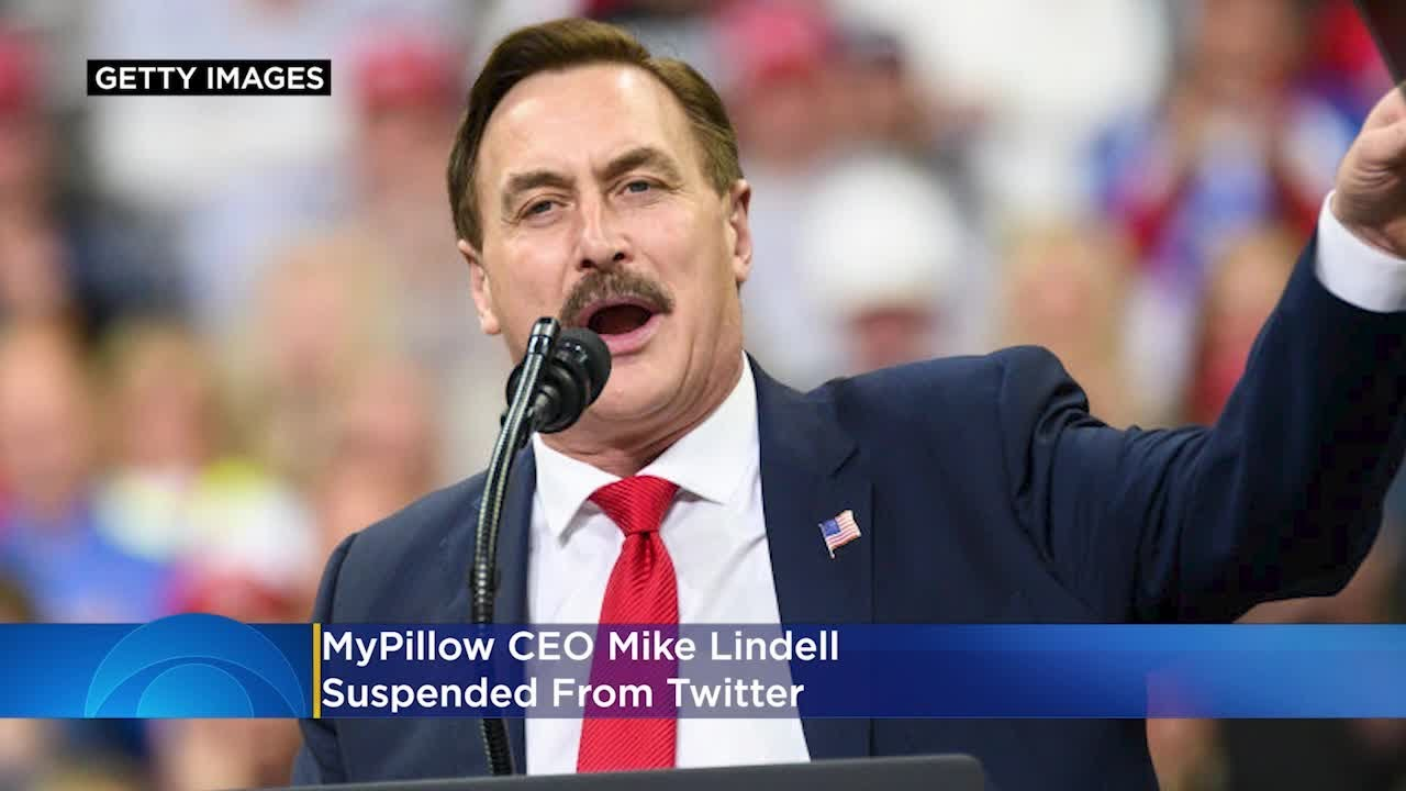 Download MyPillow CEO Mike Lindell Suspended From Twitter