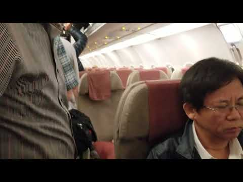 Boarding Asiana Airlines At Clark International Airport, Angeles City To South Korea (2/18/2019)