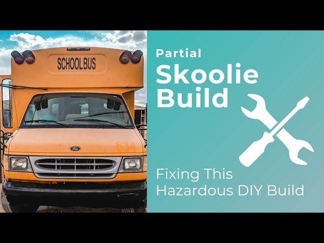 Solar in a Skoolie Conversion | How NOT To Set Up Solar