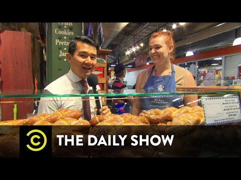 Ronny Chieng's Philly Food Tour - Exclusive: The Daily Show