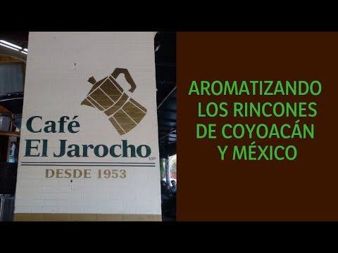 Café El Jarocho; la tradición de Coyoacán.