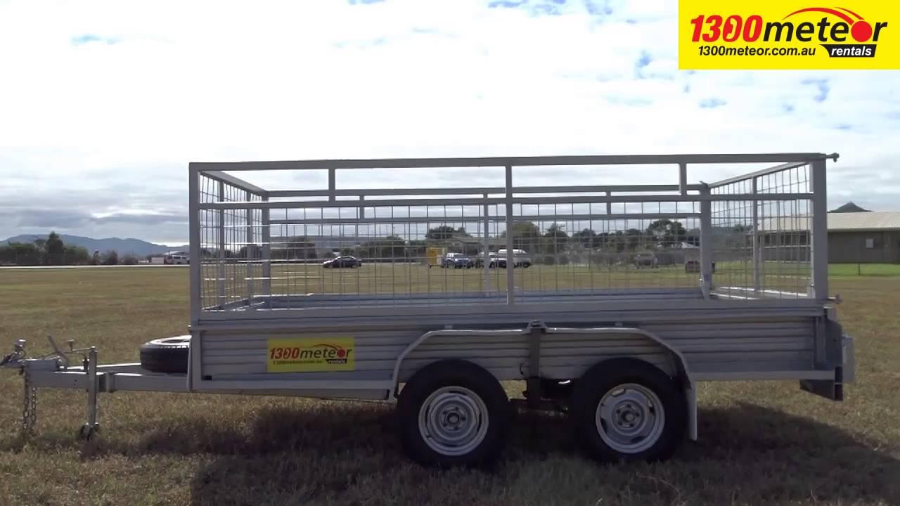 U223 12 X 6 Tandem Axle Cage Trailer Cairns Townsville