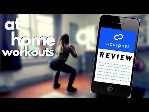 I tried five CLASSPASS VIDEO WORKOUTS | classpass review | quarantine workouts