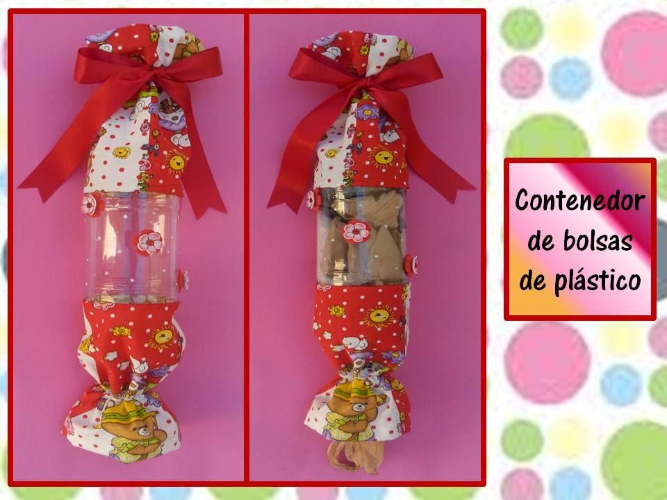 ecaa004af ♥CONTENEDOR DE BOLSAS PLASTICAS♥ Reciclando botella de plástico-  ♥CREACIONES mágicas♥ - YouTube