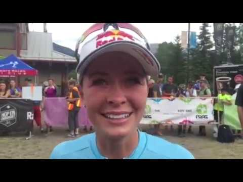 Interview with Emily Batty @ 2017 MTB XCO Nationals