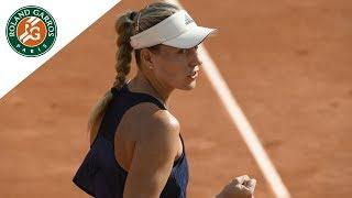 Angelique Kerber vs Caroline Garcia - Round 4 Highlights I Roland-Garros 2018