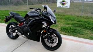 Overview and Review of the 2012 Kawasaki Ninja 650R in Metallic Spark Black