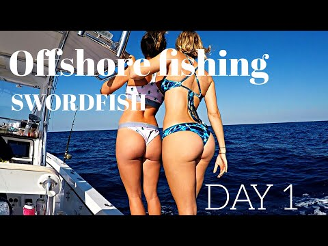 Offshore Fishing - SWORDFISH on Far Out Charters in Key West