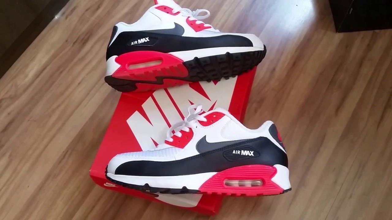 Nike Air Max 90: Preto, Branco, Essential e mais