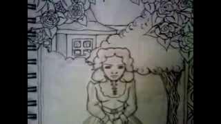 Speed-Drawing Part 1: Estella Havisham