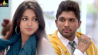Iddarammayilatho Movie Scenes   Allu Arjun Flirting with Catherine Tresa   Latest Telugu Scenes