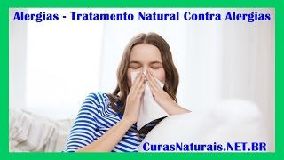 Alergias   Tratamento Natural Contra Alergias