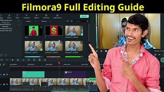 How to Use Filmora9 Video Editor | Best Video Editor For YouTubers | Step by Step Full Tutorial