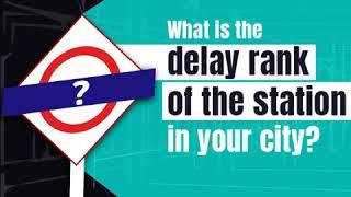 RailYatri Train Station Delay Index | Rohtak Station