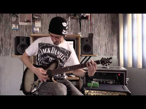Metallica - Master Of Puppets - Guitar performance by Cesar Huesca