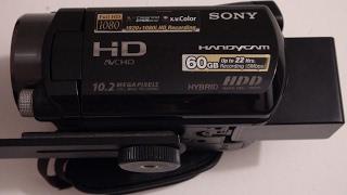 2008 Sony Handycam HDR SR11 60GB Hard Drive