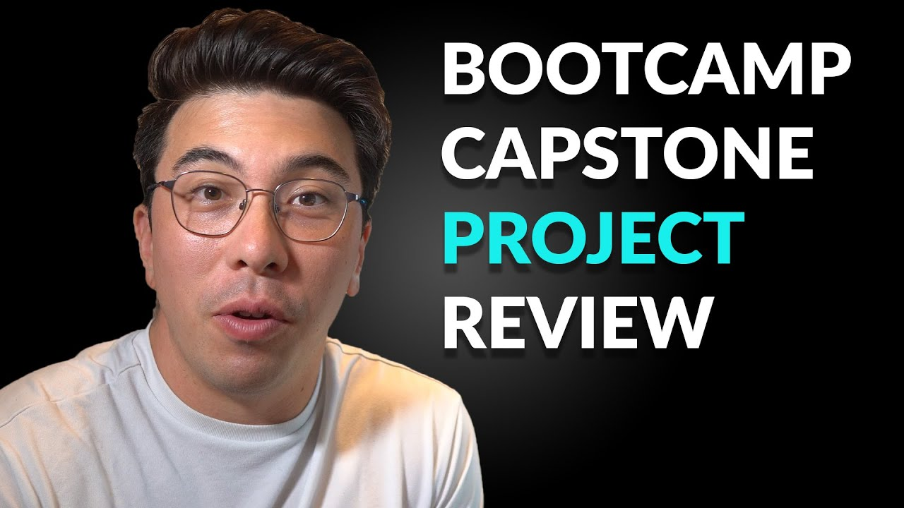 Reviewing Your Data Science Projects - Episode 20 (Bootcamp Capstone)