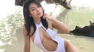 Yukie Kawamura 川村ゆきえ 1 - White Bathingsuit 川村ゆきえ 動画 30