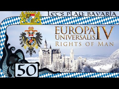 Imperial Ban - Let's Play Europa Universalis IV: Rights of Man as Bavaria #50 (Very Hard)