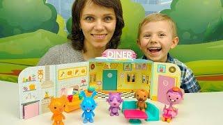 Мультики с игрушками Саго Мини - Кролик Джек открывает своё кафе - Мультфильмы для малышей