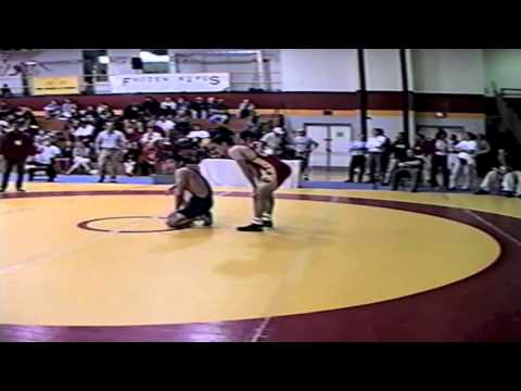 2002 Senior National Championships: 55 kg Tony Churchill vs. Mike Stitt