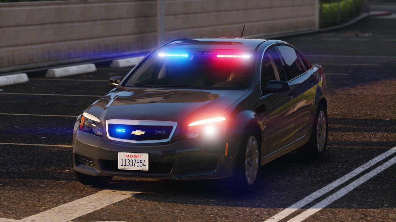 2013 Chevrolet Caprice - LSPD Unmarked with FS Spectralux