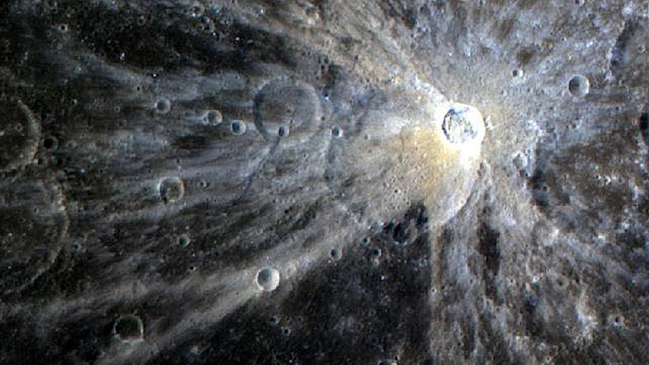Download What NASA Photographed on the Surface of Mercury?
