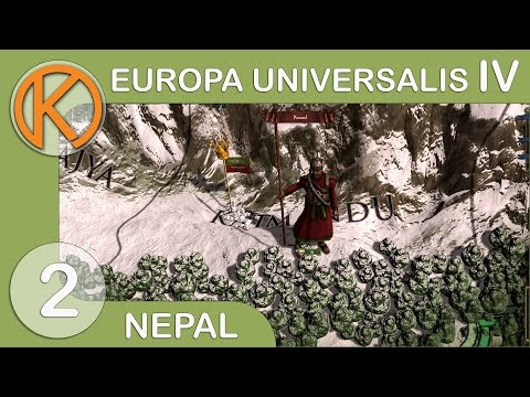 EU4 Rights Of Man - Nepal | New Lands - Ep. 2 | Let's Play Europa Universalis IV Gameplay