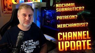 Kanalmitgliedschaften - Patreon - Merchandise - nochmal Subnautica?| Channel Update thumbnail