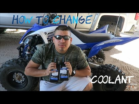 How To Change: Coolant on 2016 Yamaha Raptor 700R