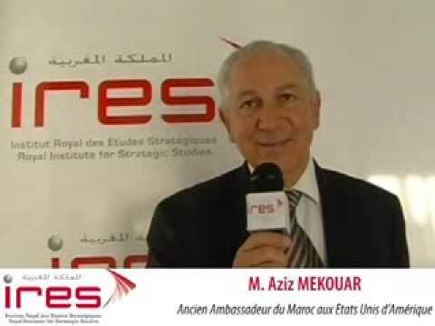 Aziz MEKOUAR, Ancien Ambassadeur Du Maroc Aux Etats Unis D'Amérique