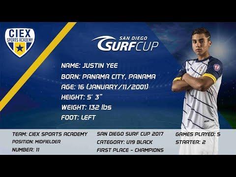 Justin Yee Highlights | U19 San Diego Surf Cup 2017