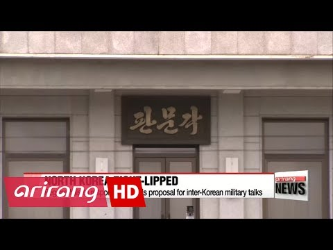 North Korea fails to respond to Seoul's proposal for military talks
