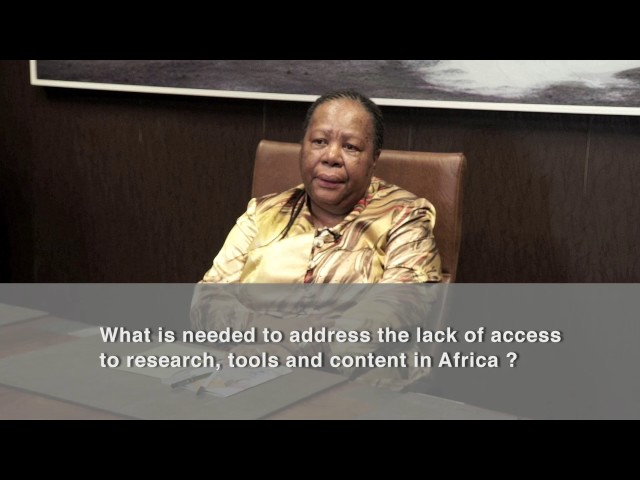 Science Forum South Africa 2016 - Interview with Minister Pandor