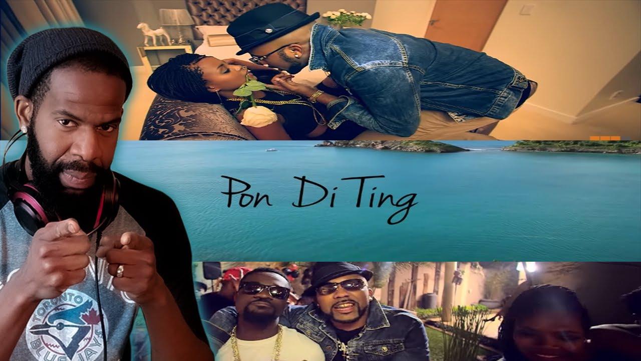 Download Sarkodie - Pon Di Ting ft  Banky W (Jiggzy Entmt Reaction🇧🇧🇨🇦)🔥🔥