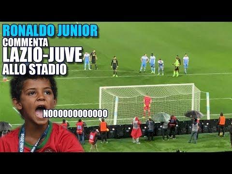 IL COMMENTO DI LAZIO-JUVE   Ronaldo Junior allo STADIO  