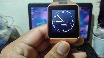 SBA SW -001 Bluetooth Smart watch Review