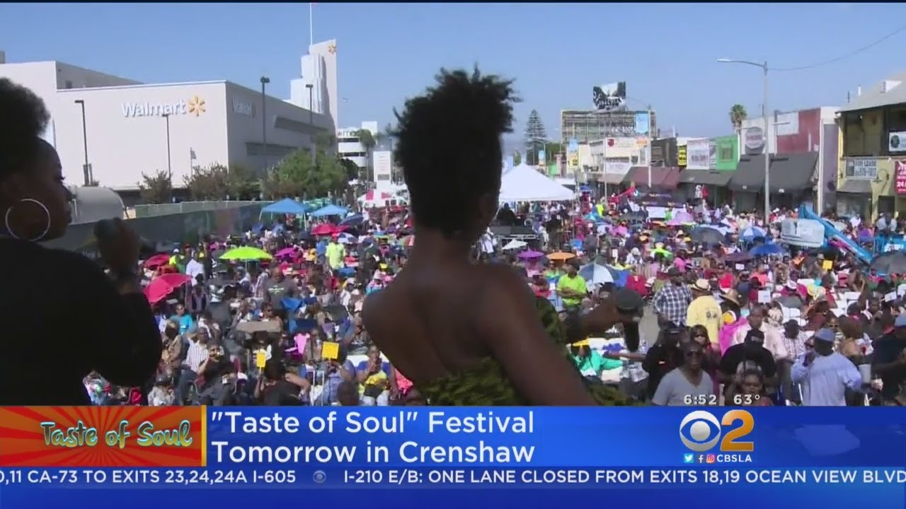 868aec2cb254 Annual Taste Of Soul Takes Over Crenshaw District - YouTube