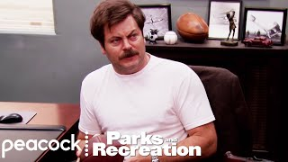 Ron Swanson's Birthday Surprise - Parks and Recreation