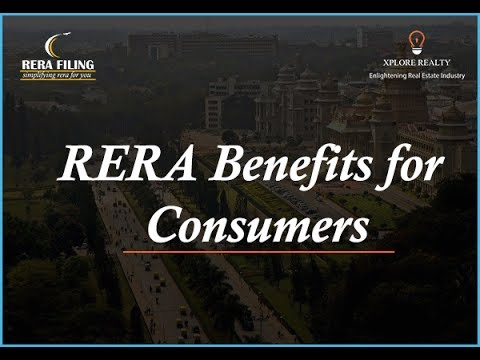 RERA Benefits for Consumers