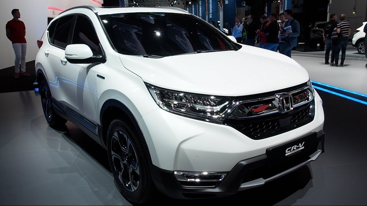 the all new honda cr v hybrid prototype 2018 in detail review walkaround interior exterior youtube. Black Bedroom Furniture Sets. Home Design Ideas