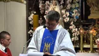 Ks. Piotr Natanek - Kazanie o Tajemnicy Mszy Świętej wg. św. Ojca Pio 16.07.2013