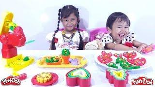 Membuat Play Doh dari Tepung 💖 MAINAN ANAK PEREMPUAN 💖Lets Play Jessica Jenica 💖