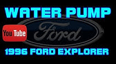 Fuel filter removal 2008 Ford Explorer 4 0L - YouTube